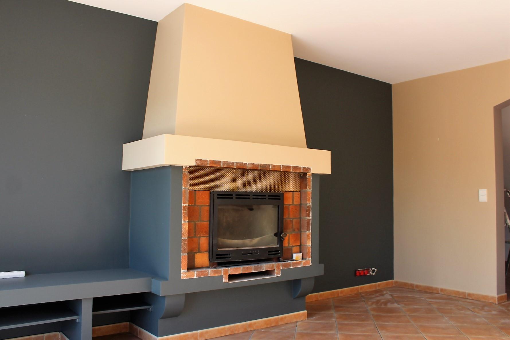 peinture intérieur villa provencale