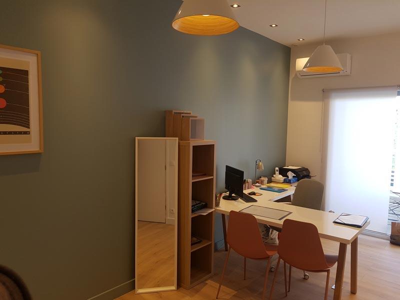 peinture intérieur cabinet médical