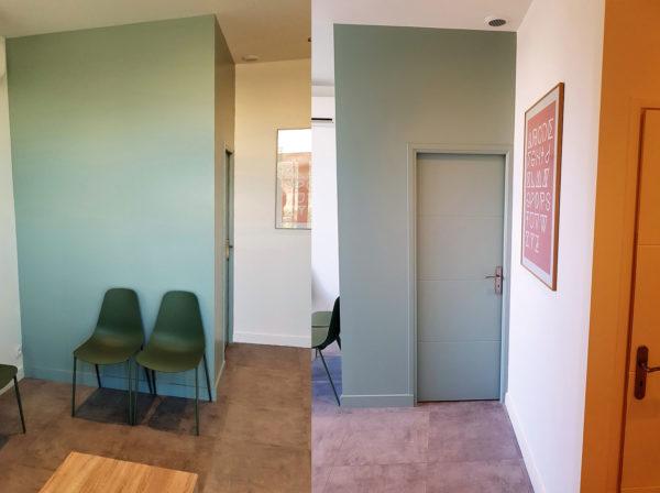 peinture intérieur construction neuve