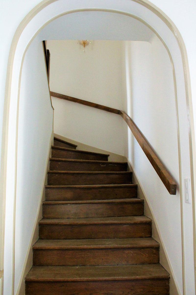 rénovation peinture escalier maison Antibes