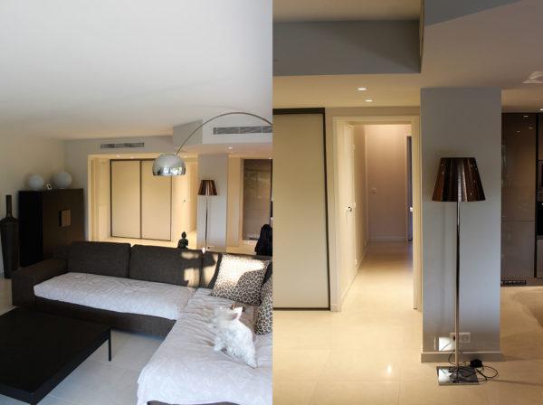 rénovation appartement à Antibes